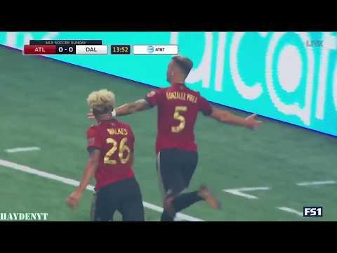 Atlanta United's First Goal At Mercedes-Benz Stadium | Atlanta United FC Highlights | 9.10.17