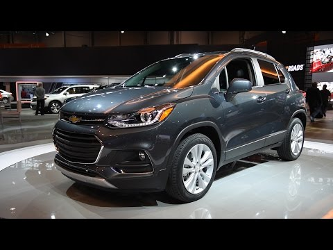 2017 Chevrolet Trax - 2016 Chicago Auto Show