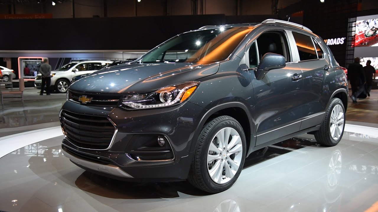 2017 chevrolet trax - 2016 chicago auto show - youtube