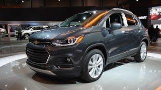 2017 Chevrolet Trax - 2016 Chicago Auto Show