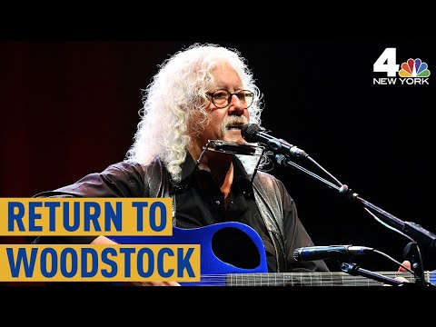 Arlo Gutherie Visits Woodstock 50 Years Later
