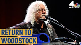 50 Years Since Woodstock: Arlo Guthrie on Revisiting the Iconic Music Fest Venue | NBC New York