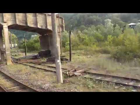 Поезд Батуми Ереван из окна поезда 27 08 2018Г