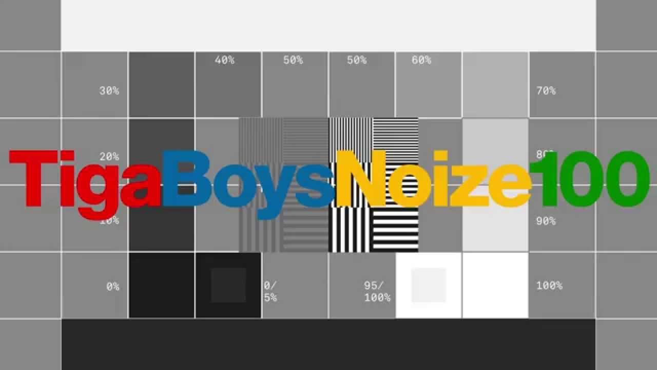 Tiga vs boys noize 100 original youtube ccuart Gallery