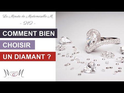 Comment Bien Choisir Un Diamant ? La Minute De Mademoiselle M212