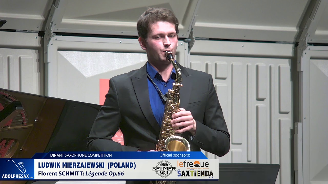 Ludwik Mierzejewski (Poland) - Legende Op 66 by Florent Schmitt (Dinant 2019)