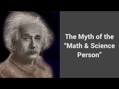 """MOOC USSV101x   How to Study for Technical Courses   The Myth of the """"Math & Science Person"""""""