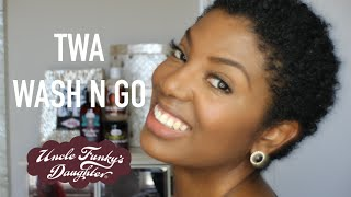 TWA Wash 'n Go Routine | Uncle Funky's Daughter