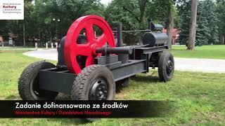 SILNIK STACJONARNY - DEUTZ MIH 338 w zbiorach Muzeum Rolnictwa w Ciechanowcu