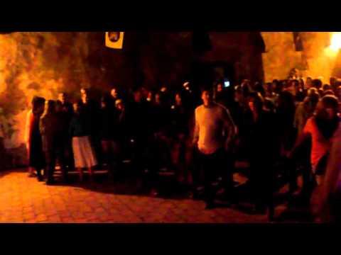 Portugal Medieval market - Dancings with medieval music - Palmela Castle