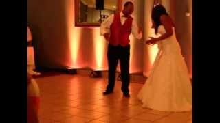 Best Wedding First Dance with a surprise mix of songs