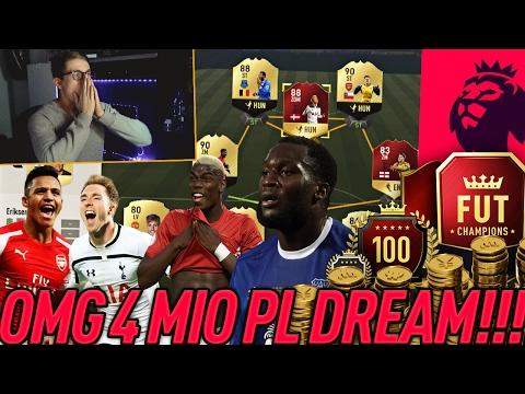 FIFA 17: DAS BESTE PREMIER LEAGUE TEAM FÜR FUT CHAMPIONS! 😱 (DEUTSCH) - ULTIMATE TEAM - OMG!
