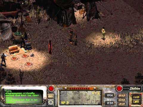 Let's Play Fallout 2 [Blind] 076 Bad Luck Dog Begone