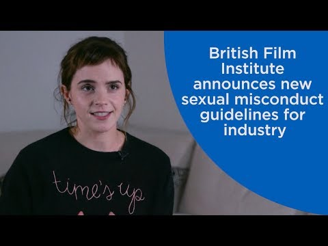 Emma Watson explains new sexual harassment protections for British film industry