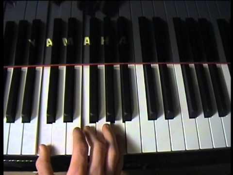 "How to play ""November Rain - Guns n Roses"" on piano"
