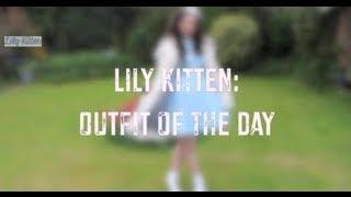 Lily Kitten: OOTD - 1960's Pastel Blue Thumbnail