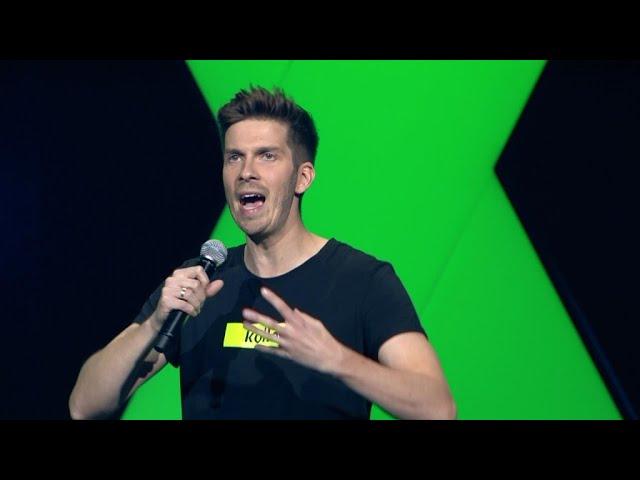 Simon Stäblein - Laktose vs. Gluten - 1LIVE Köln Comedy-Nacht XXL 2019
