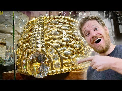 The World's LARGEST Gold Market - in Dubai
