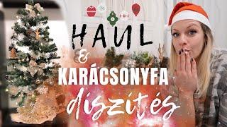 Karácsonyfa díszítés az új lakásban • PEPCO & KIK HAUL 🎄