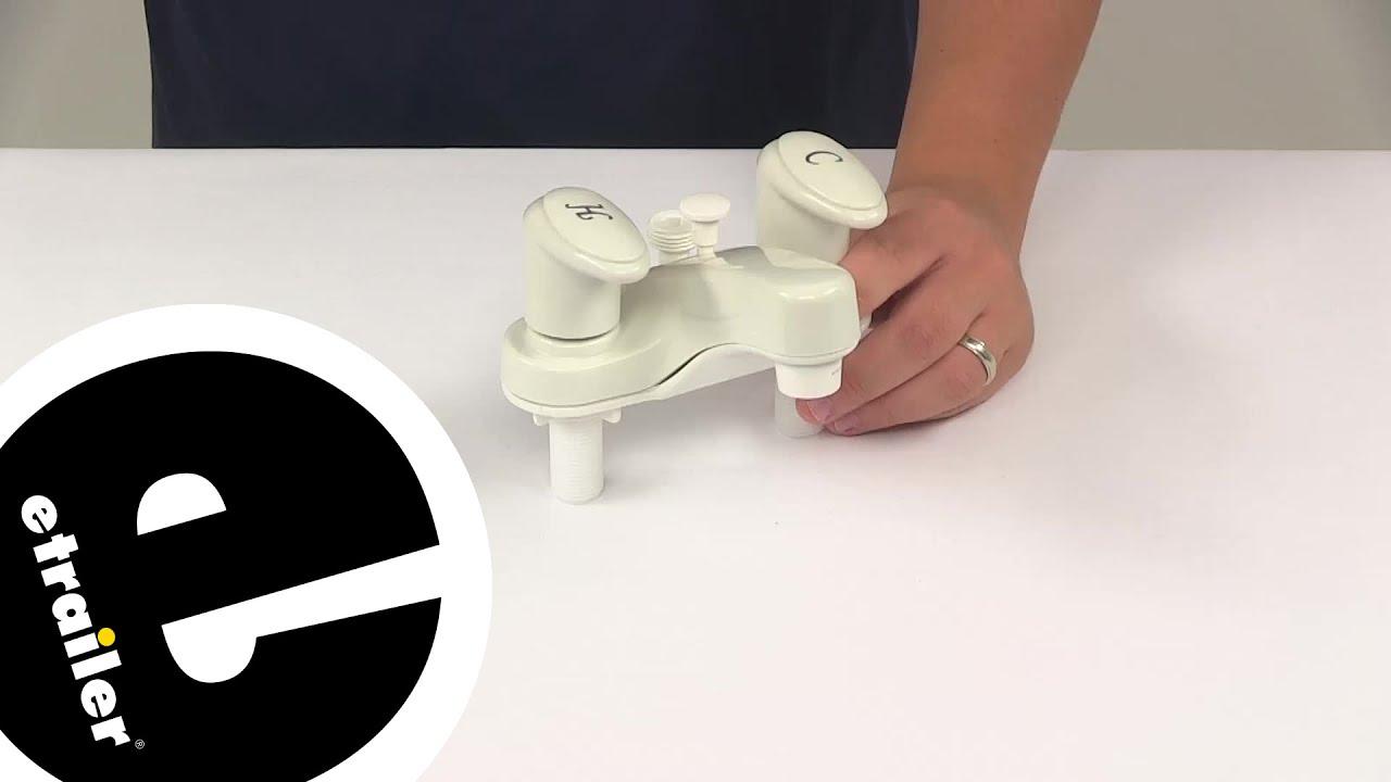 Demo Phoenix Faucets RV Bathroom PF222241 - etrailer.com - YouTube