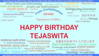 Tejaswita   Languages Idiomas - Happy Birthday