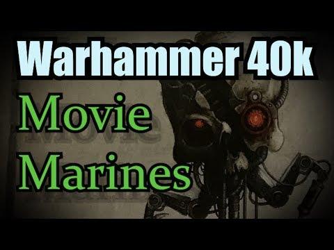 Movie Marines vs Chaos Warhammer 40k Battle Report Ep 26