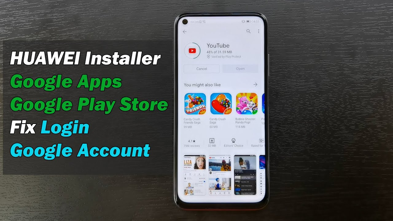 """HUAWEI Installer Google Apps & Google Play Store 