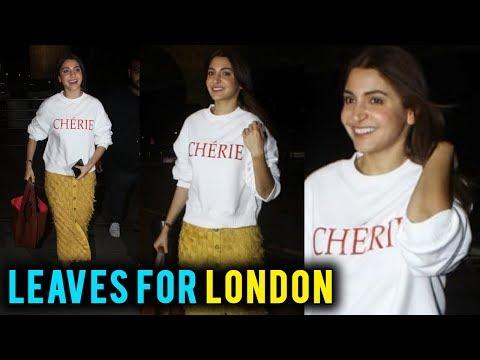 Anushka Sharma Leaves For London For An Advertisement Shoot Mp3