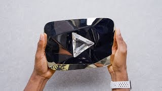 YouTube Diamond Play Button Review!