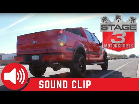 2009-2014 Ford F-150 5.0L Flowmaster American Thunder Cat Back Exhaust Sound Clip