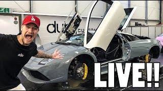 Live: Lamborghini Murcielago Update!!