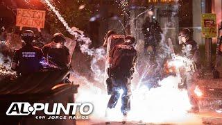 Un país en llamas: así amaneció EEUU tras las intensas protestas en varias ciudades