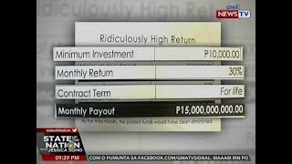 SONA: SEC: Alok ng Kapa na 30% return on investment, hindi makatotohanan