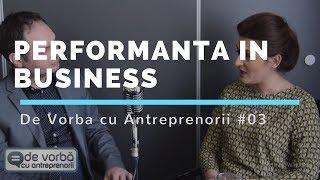 De vorba cu antreprenorii - Florentina Tinc intervievata de Calin Iepure