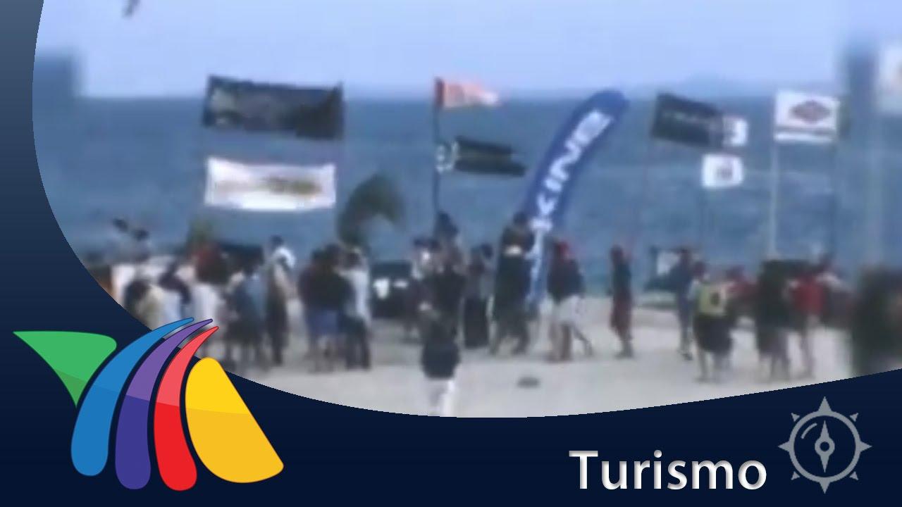 Turistas llegan a practicar deportes en el mar de BCS ...