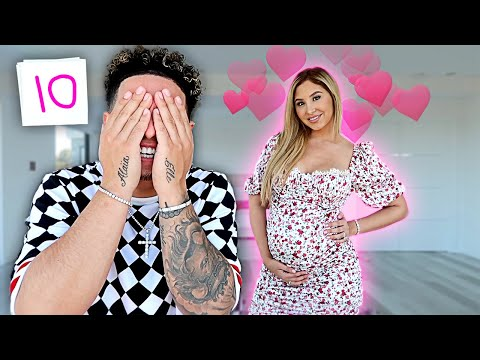 RATING PREGNANT WIFE'S VALENTINES DAY OUTFITS!!! **UNBELIEVABLE**
