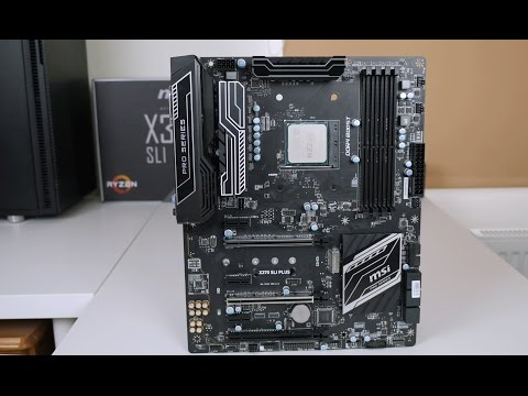 MSI X370 SLI Plus Motherboard Review