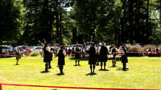 Crann Tara Pipes and Drums - Glasgowlands 2012