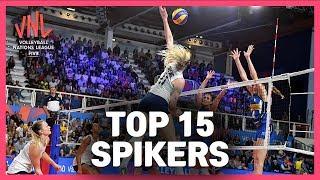 Top 15 Spikers | Women's VNL Volleyball 2019