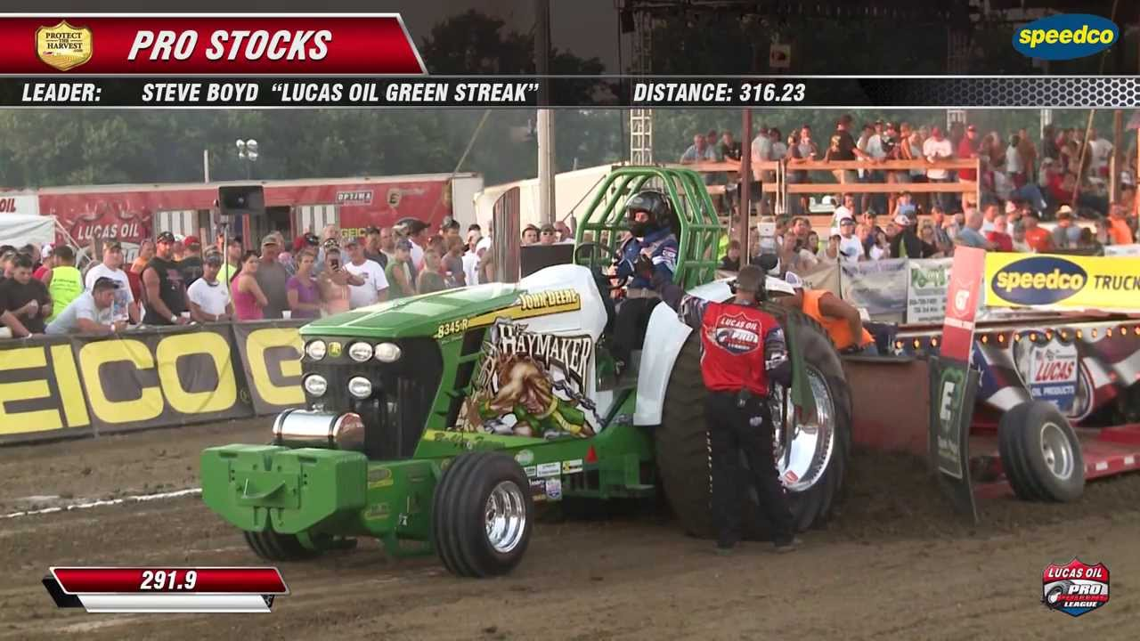 Pulling Tractors For Sale >> PPL 2013: Pro Stock Tractors pulling at Freeport, IL - YouTube