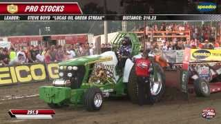 PPL 2013: Pro Stock Tractors pulling at Freeport, IL