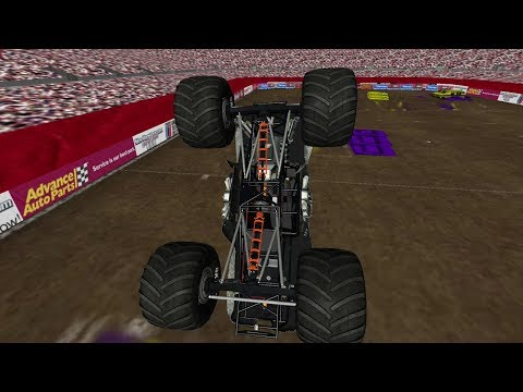 Gravedigger And Max-D Freestyle Custom WF3 (sim-monsters/Rigs Of Rods