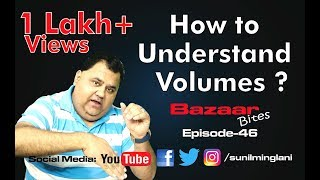 How to Understand Volumes ?|| stock market Hindi video|| Episode-46 || Sunil Minglani