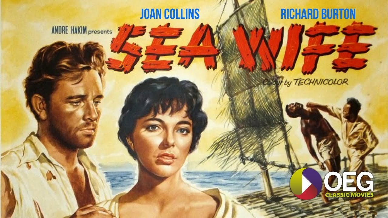 Image result for sea wife 1957
