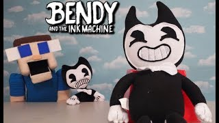 Bendy and the Ink Machine BOOTLEG PLUSH Fake knock off Figure Unboxing Review Hack Toy