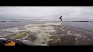 Flyboard® – ewolucje na wodzie w Warszawie video