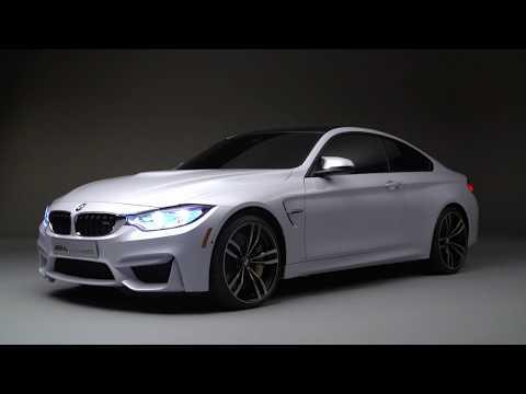 BMW M4 Concept Iconic Lights - CES 2015 | AutoMotoTV
