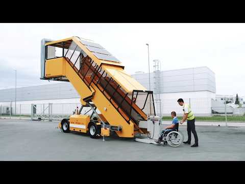 WheelChair Lift Solution - Ground Support Equipment For Aircrafts