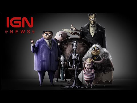 Oscar Isaac, Charlize Theron Lead Voice Cast in Animated Addams Family Movie  IGN News