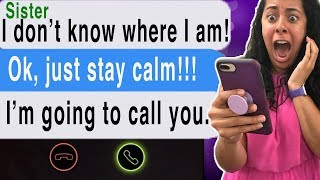 Texting My DEAD Sister!!! *She Called ME* (Cliffhangers | Scary Text Message Story | Station)